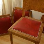 Assise de chaise Art Déco