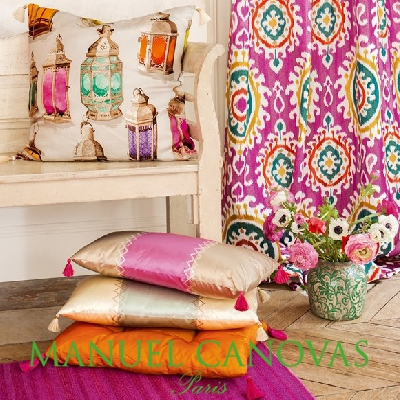 Collections tissus Manuel Canovas